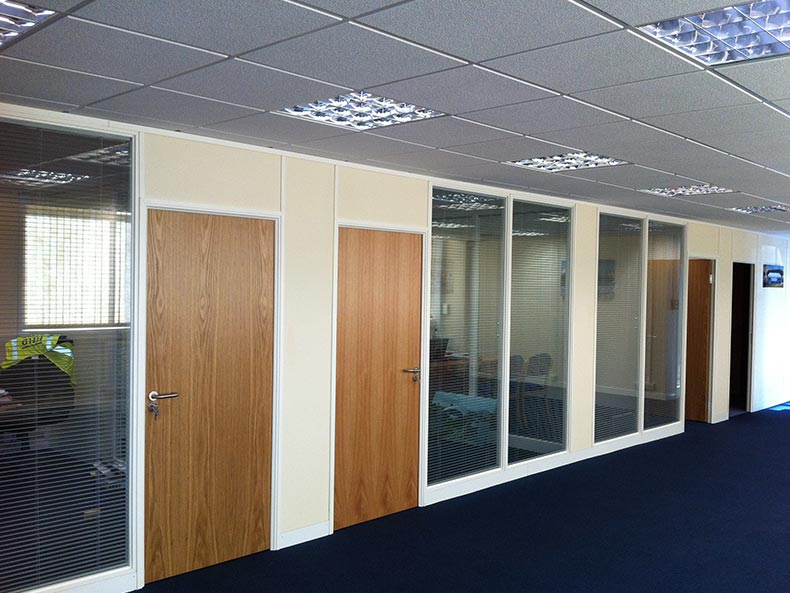 Demountable Office Partitions in Bristol for Field & Lawn