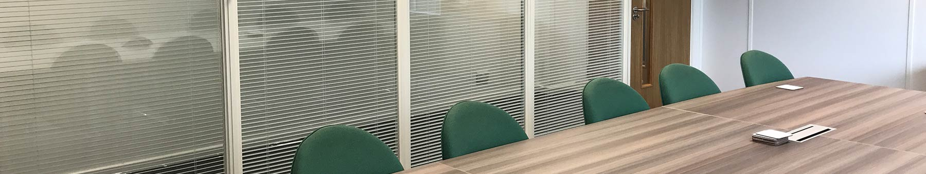 Glass Office Partitioning in Bristol for ECOBAT
