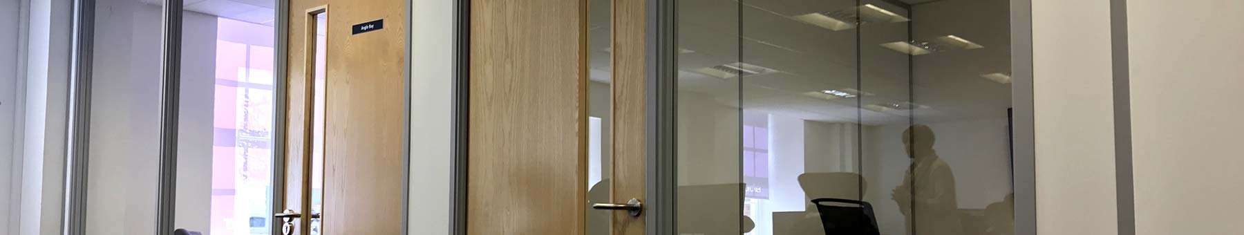 Glass Partitioning in Swindon Office Allows Privacy for Appsbroker