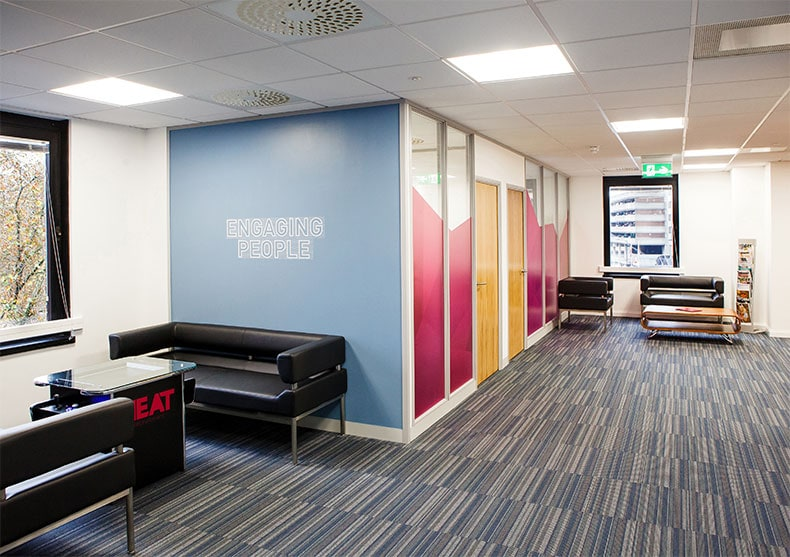 Office Partitioning in Bristol for Heat Recruitment