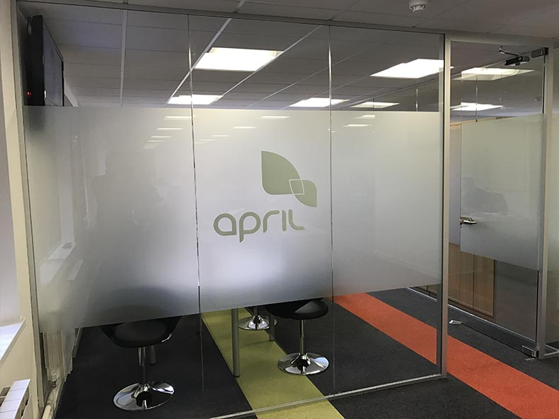 Frameless Glass Partitioning in Bristol for April UK