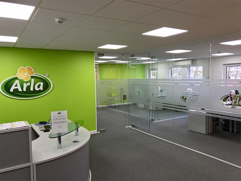 Office Fit Out in Bath for Arla Foods UK