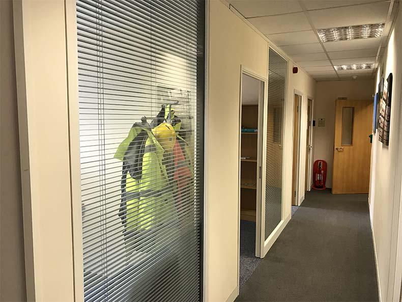 BOM IT office corridor