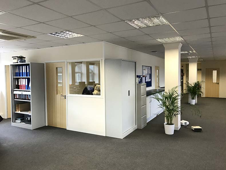 Using Dry Lining to Create Rentable Offices in Bristol