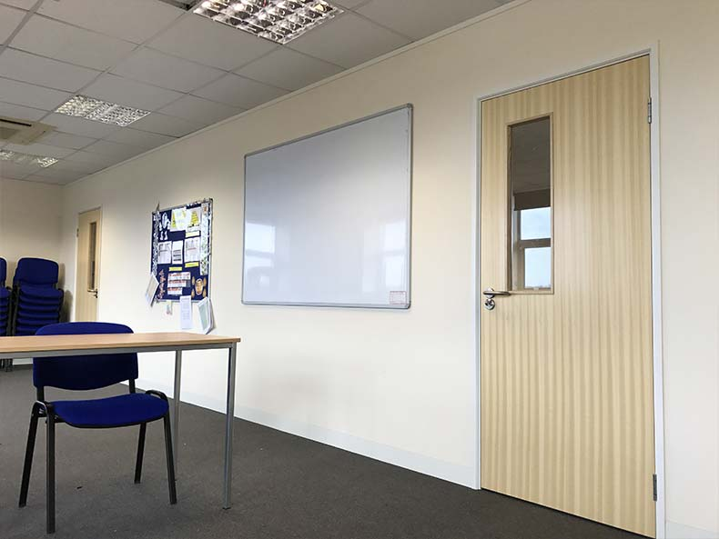 BOM IT office meeting area