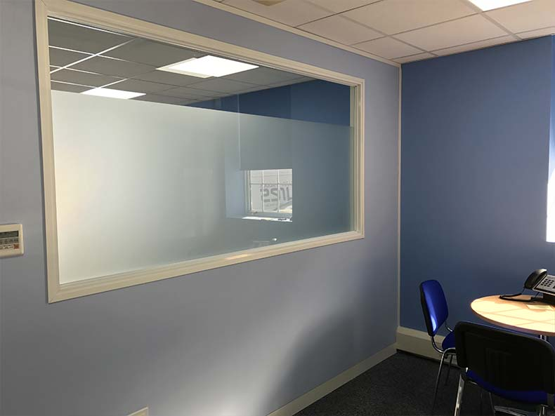 BOM IT office meeting room with window