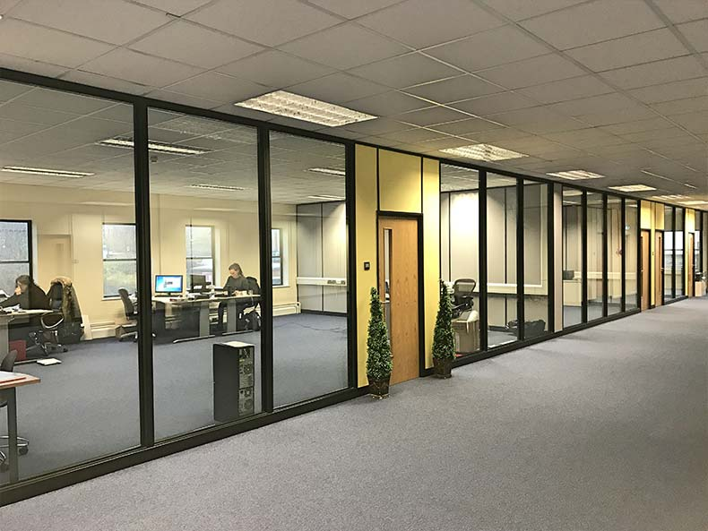 Office Partitions in Bristol for Chapple & Jenkins