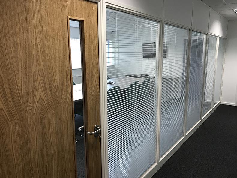Ecobat office corridor