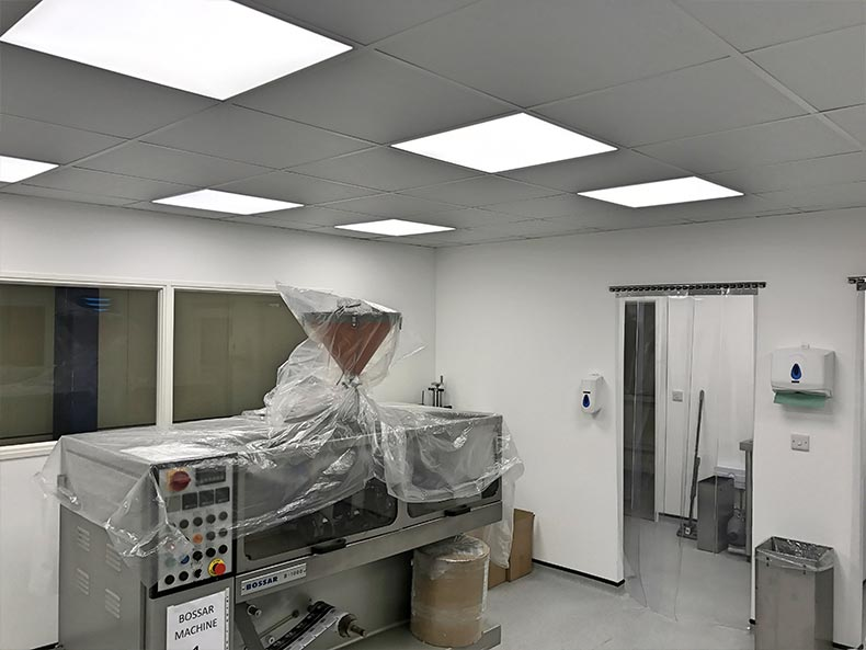 Drylined Partitions in Bristol for Fillcon Ltd