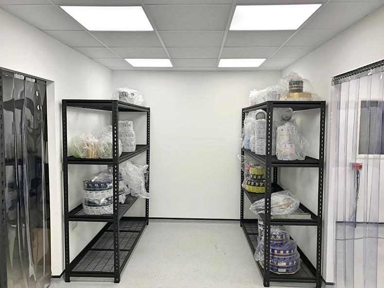 Fillcon metal storage shelves