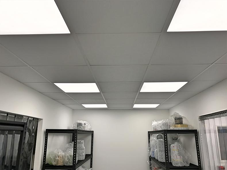 Fillcon suspened ceiling with lighting