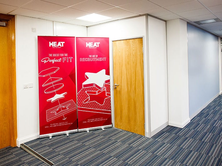 Heat office corridor