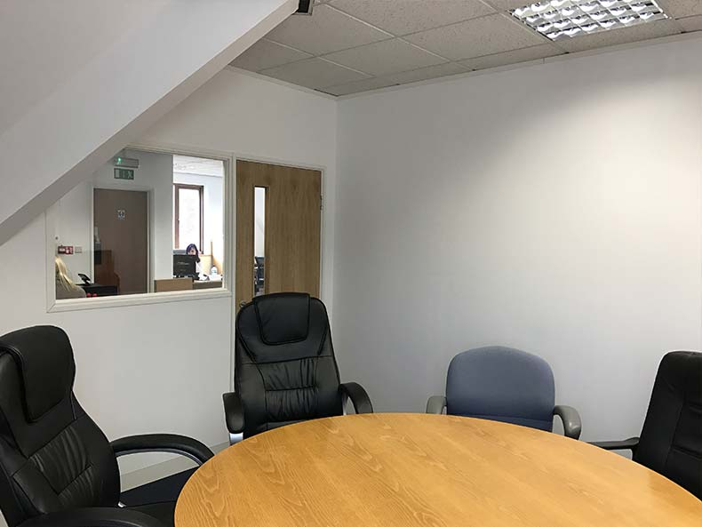 IFS4U office meeting room with table