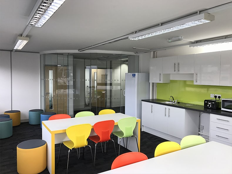 Office interiors bristol cheltenham swindon avent interiors ltd Kitchen design and fitting courses