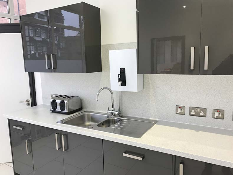 Modern office kitchen in Bristol