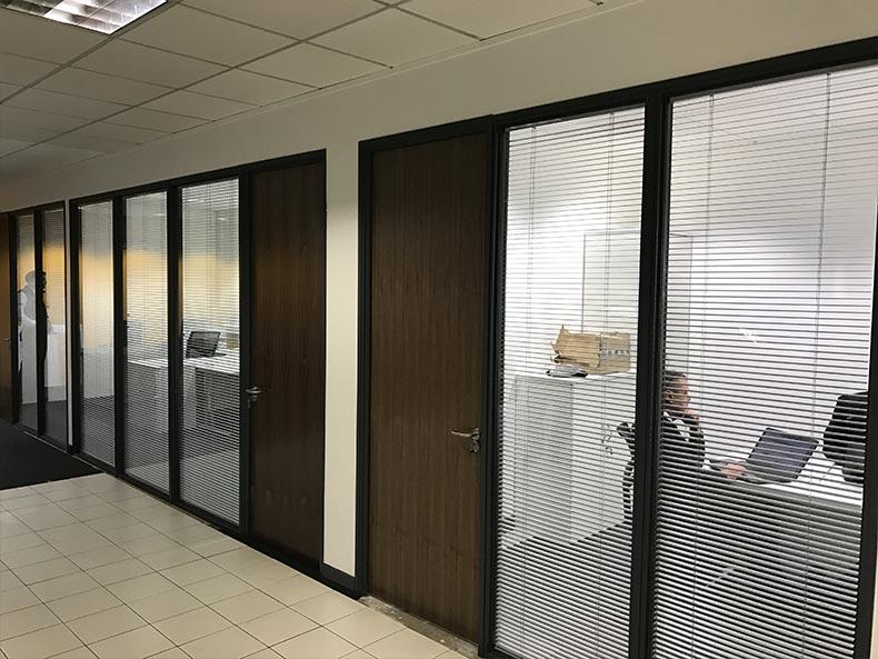 SJ Cook & Sons office corridor