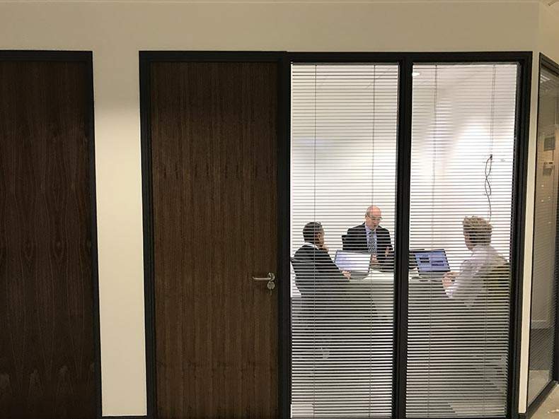 SJ Cook & Sons office meeting room