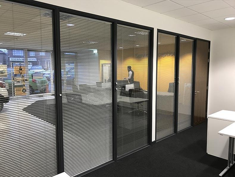 Office Refurbishment in Bristol for SJ Cook & Sons