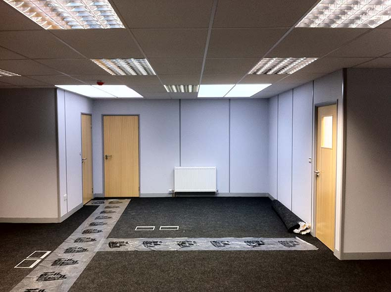 Office refurbishment bristol avent interiors ltd for Office refurbishment