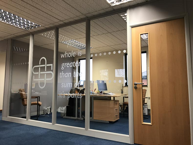 Creating Offices Using Partitioning in Bristol for Synergy CRS