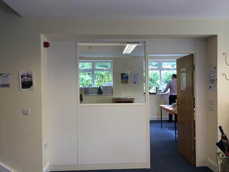 Office Partitioning in Bath for Zenith Windows