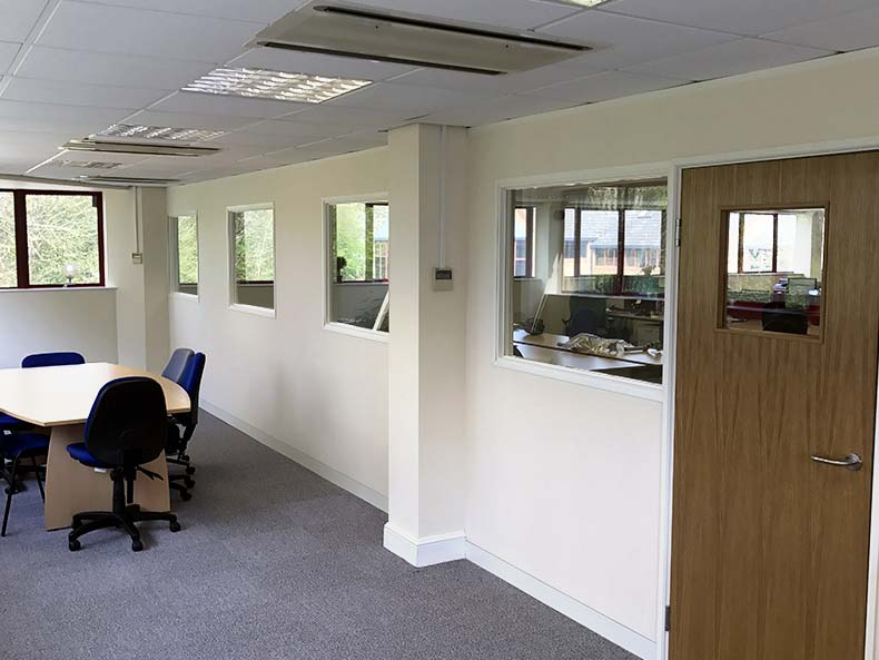 Office partitioning in Swindon for Ace Axis