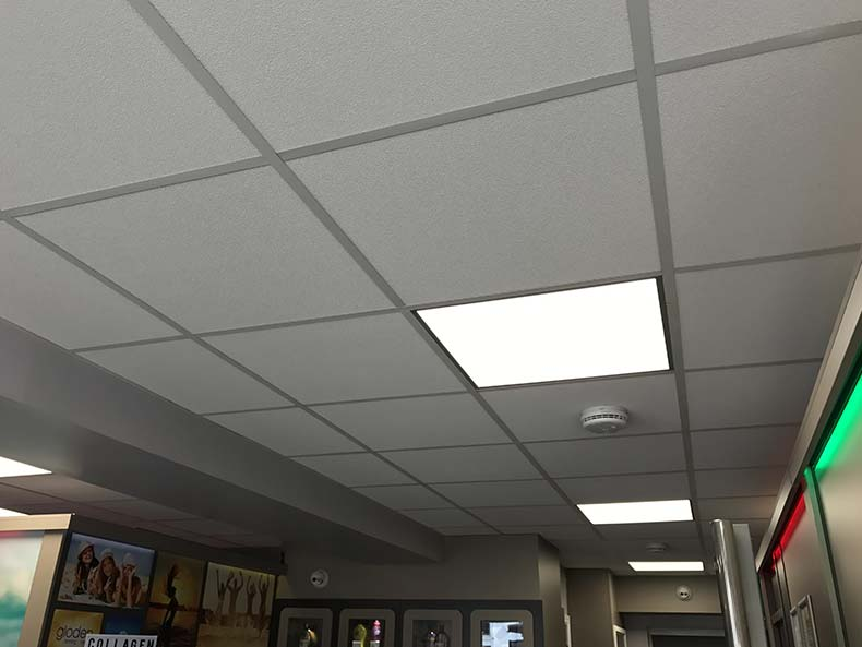 Suspended ceilings in Swindon for gloden Tanning