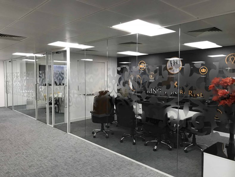 Meeting Room Partitions Bristol for Kingston Barnes
