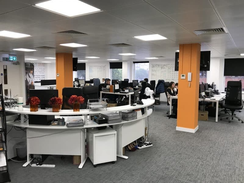 Office interiors bristol cheltenham swindon avent for Office design bristol