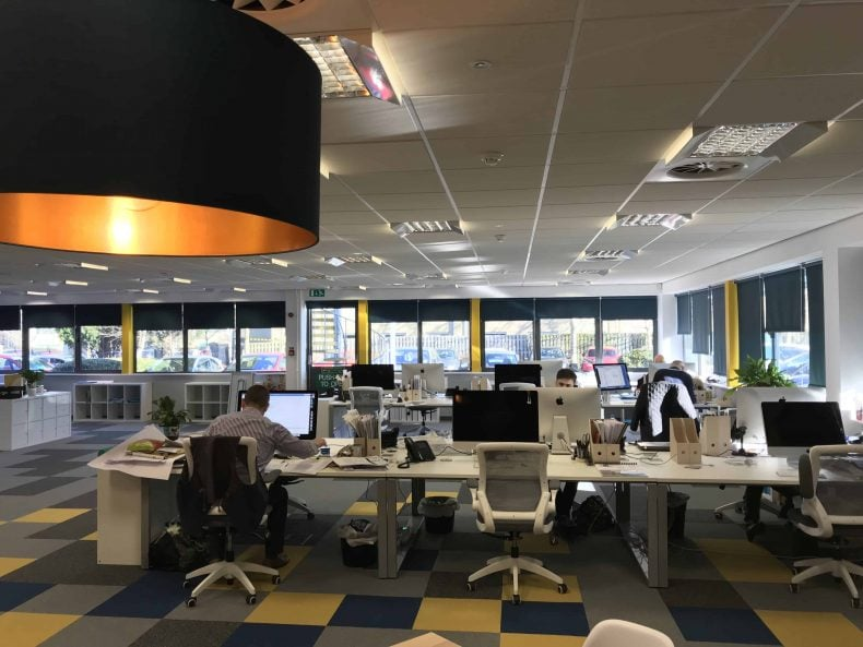 Office Interior in Bristol for Pegasus Group