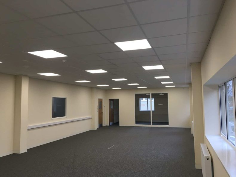 Commercial Unit Fit Out in Wiltshire for HPH