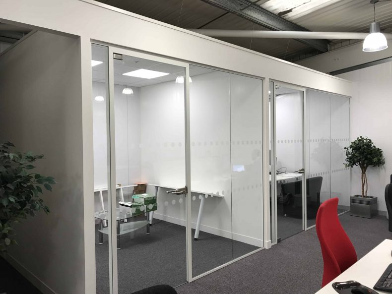 Four offices for management team