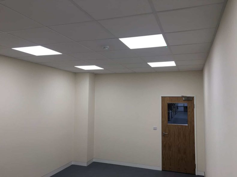 Partition ceilings to uphold fire and acoustic values
