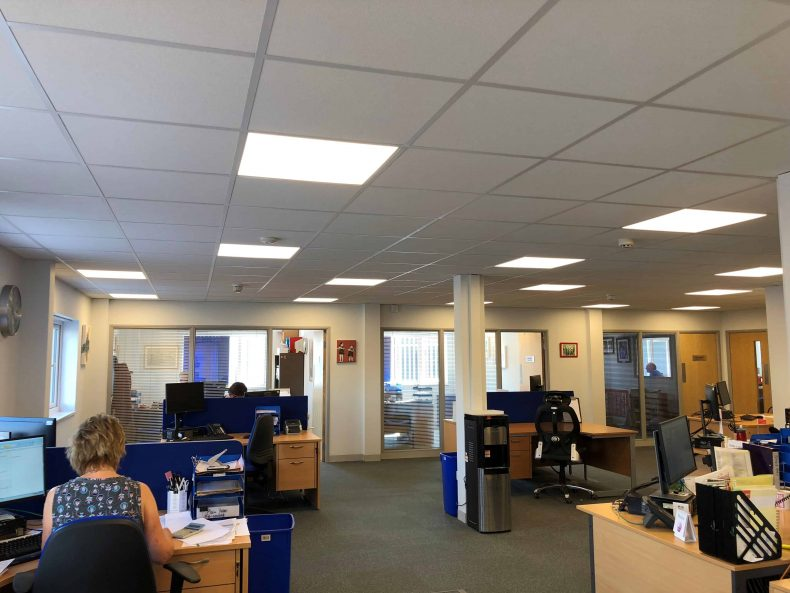 Office Fit Out in Wiltshire for Sound Post