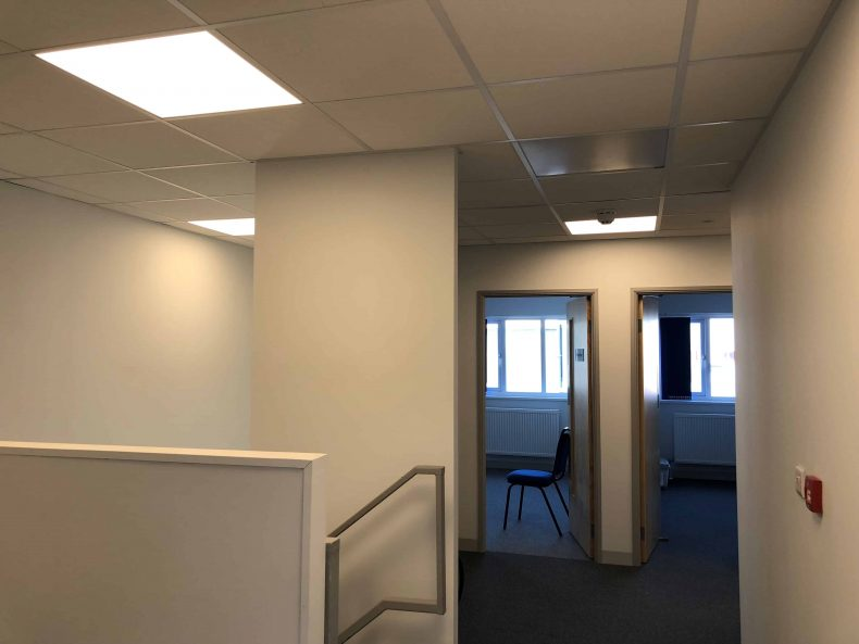 Office Partitions in Wiltshire for Sound Post