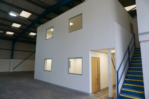Mezzanine Office Floor in Bristol for Ancora Recruitment