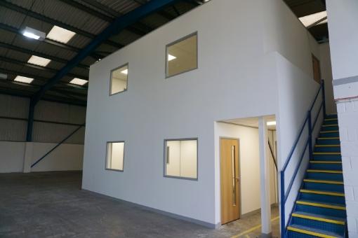 Mezzanine Office Floor in Bristol for Ancora Recruitment