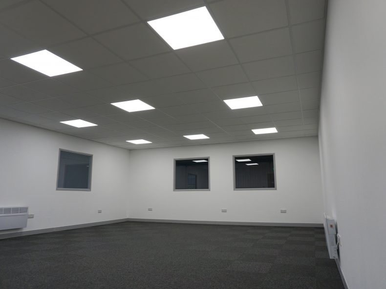 Suspended Ceiling for Ancora Recruitment